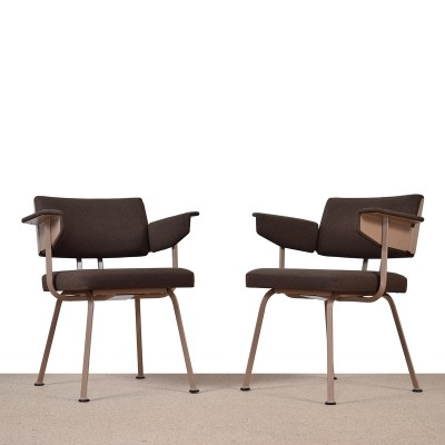 Pair of Resort arm chairs by Friso Kramer for Ahrend de Cirkel, 1960s