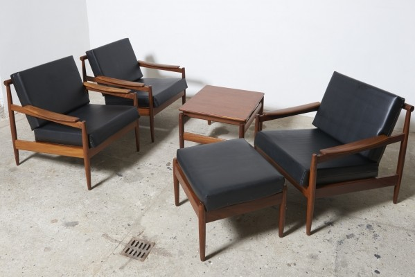Seating group by Jos de Mey for Luxus, 1960s