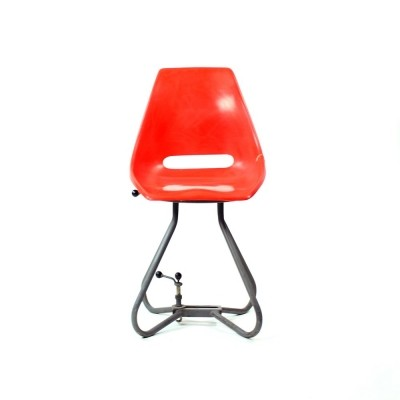 Iconic Vertex chair by Miroslav Navrátil for Vertex, 1960s