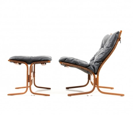 Lounge Chair & Ottoman by Ingmar Relling for Westnofa