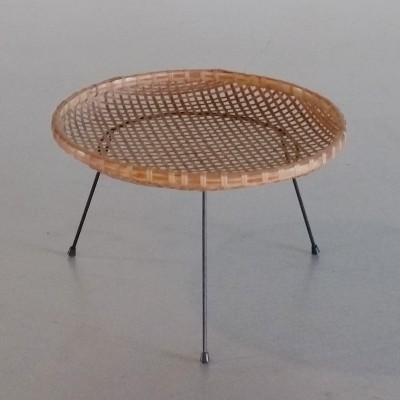 Rattan Magazine Holder by Artimeta, 1950s