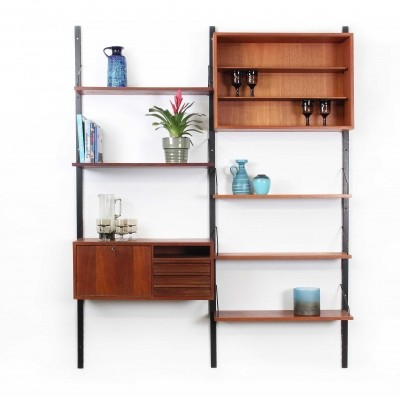 Cadovius Royal System Wall Unit in Teak wood