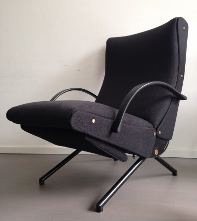 First Edition P40 lounge chair by Osvaldo Borsani for Tecno, 1950s