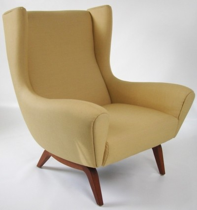 Model 110 lounge chair by Illum Wikkelsø for Søren Willadsen, 1950s