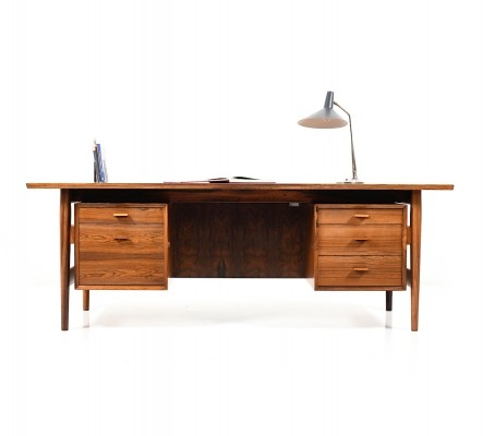 Fine Arne Vodder Rosewood Desk for Sibast Furniture, Denmark 1960s