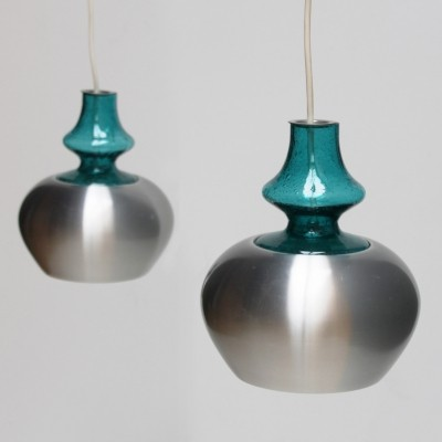 Pair of Pendants 'Carthago' by RAAK, The Netherlands