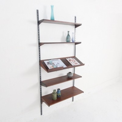 FM wall unit in rosewood designed by Kai Kristiansen