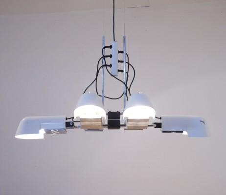 'Pala' Chandelier by Danilo & Corrado Aroldi for Luci