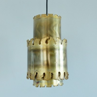 Set of two brutalist pendant lights by Svend Aage Holm Sörensen