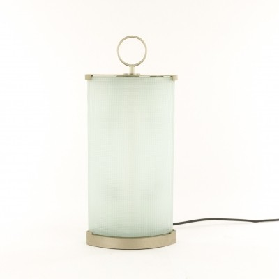 Pirellina glass table Lamp by Gio Ponti for Fontana Arte, 1960s