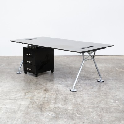 80s Norman Foster office table for Tecno