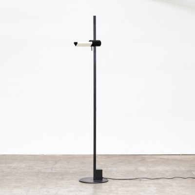 Gianfranco Frattini 'Caltha' adjustable floorlamp for Luci