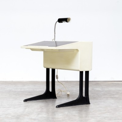 70s Luigi Colani writing desk for Elmar Flötotto