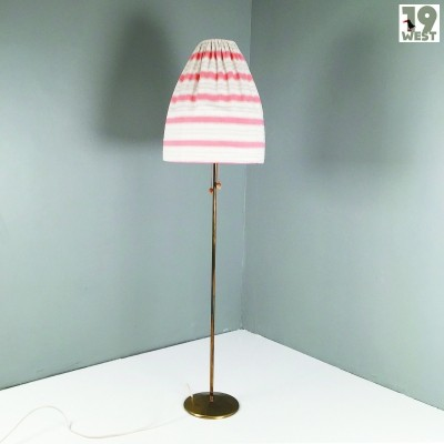 German brass floor lamp from the 1950's
