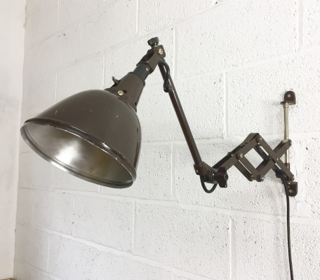 Wall lamp by Curt Fisher for Midgard, 1930s