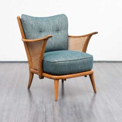 Armchair with meshwork, 1950s