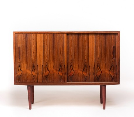 Vintage charming Danish sideboard in rosewood by Carlo Jensen for Hundevad