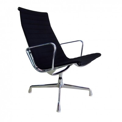 Herman Miller EA116 aluminium group lounge chair by Charles & Ray Eames