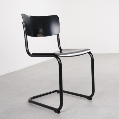 S43 cantiliver dining chair by Mart Stam for Thonet, 1980s