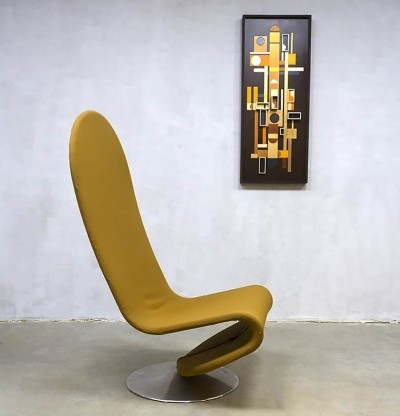Lounge chair by Verner Panton for Fritz Hansen, 1950s