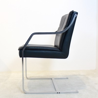 Walter Knoll Leather Art Collection Chairs by Rudolf B. Glatzel