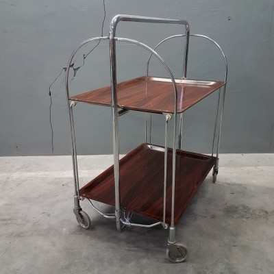 Dinette serving trolley by Bremshey, 1960s