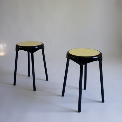 Pair of 1960's Stools By Plastunic