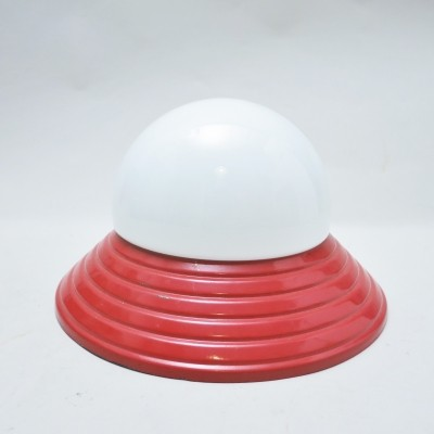 Red 80s Ceiling lamp