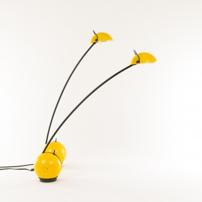 Pair of yellow Alina table lamps by Valenti, 1970s
