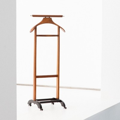 Italian Mid-Century Modern Wooden Valet by Ico Parisi for F.Lli Reguitti, 1950s