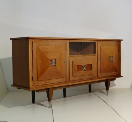 Exclusive cabinet, winner of medaille d'or nf Meuble, 1965