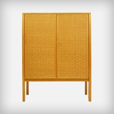 German Oak Wood Cupboard from BUB Wertmöbel, 1960s