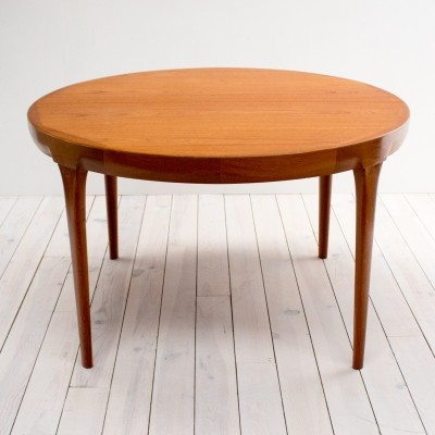Danish Teak Extending Dining Table by Jörgen Linde for Faarup