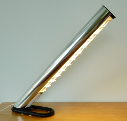 Tube desk lamp by Göran Pehrson for Ateljé Lyktan, 1970s