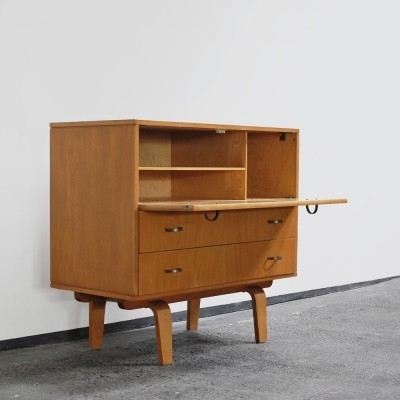 1950s small cabinet by Cor Alons for C. den Boer Gouda