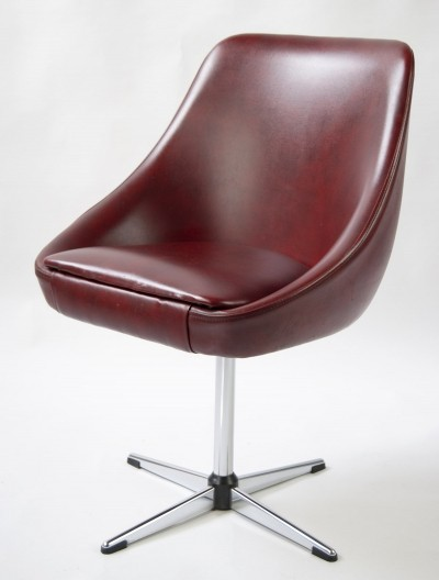 Swiveling Lounge Chair by Lübke Germany, 1960s