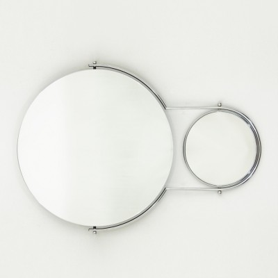 Due Mirror by Rodney Kinsman for Bieffeplast, 1980's