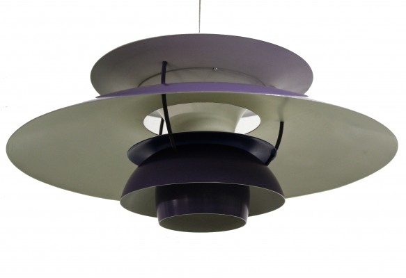 Poul Henningsen PH5 ceiling light by Louis Poulsen, 1970s