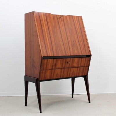 Mid century Italian rosewood bar cabinet by Dassi