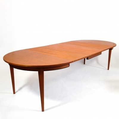 Extending leaf table by Omann Jun Mobelfabrik, 1960s
