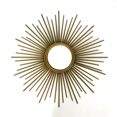 Sun shaped Chaty Vallauris mirror from the 50's-60's
