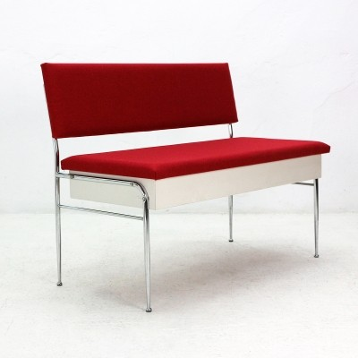 Bench with Storage Compartment, 1950s