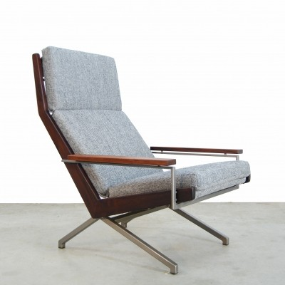 Dutch Lotus Lounge Chair by Rob Parry for Gelderland, 1960s