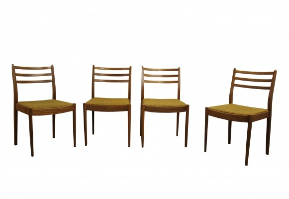 Set of four vintage dining chairs by E. Gomme for G-plan, 1960s