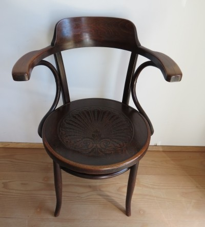 Bentwood chair manufactured by J & J Kohn Austria