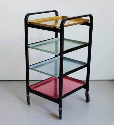 Serving trolley by Wilhelm Kienzle for MEWA, 1950's
