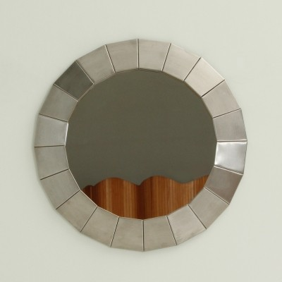 Steel Wall Mirror from 1970's