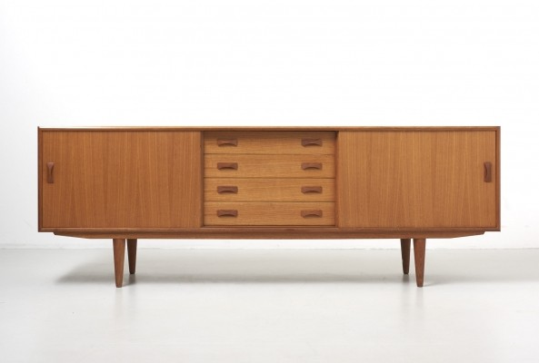 Sideboard in teak by Clausen & Son for Silkeborg Denmark, 1960s