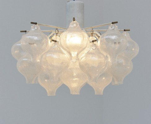 Tulipan ceiling lamp by JT Kalmar for Franken KG Germany, 1960s