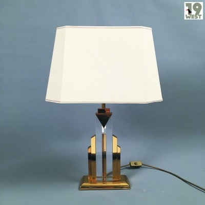 Art Deco style table lamp from the 1970's